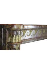 The Antique Fireplace Bank Elegant French Chique Brêche Marble Vintage Fireplace Surround
