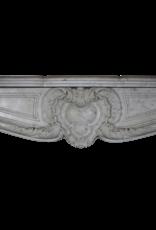 19. Jahrhundert Französisch Marmor Kamin Maske