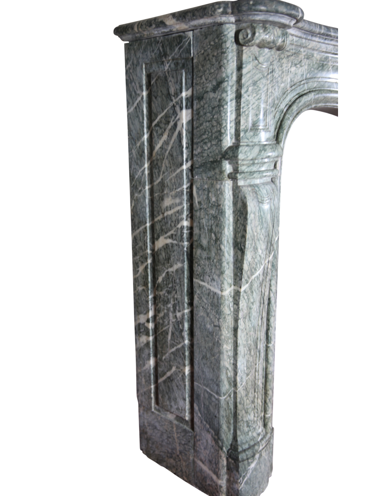 The Antique Fireplace Bank Starke Campan Vert Marmor Antik Kamin Verkleidung