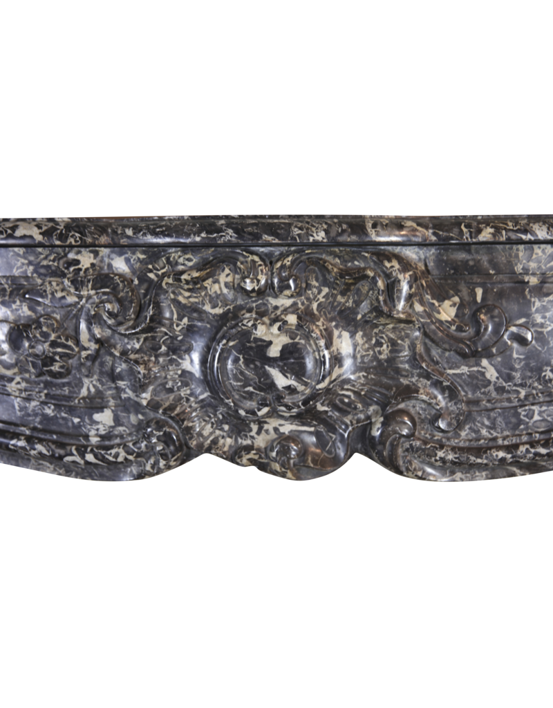 The Antique Fireplace Bank Starke Belgische 18. Jahrhundert Periode Antike Kamin Maske