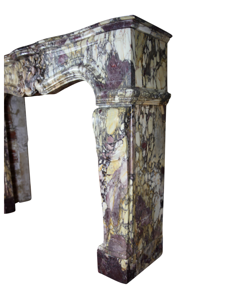French Belle Epoque Period Antique Fireplace Mantel