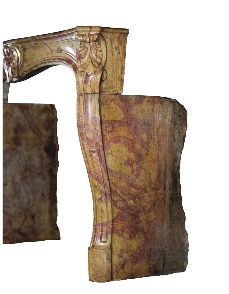 The Antique Fireplace Bank 18Th Century Chique Multi Color Created By Nature Stone Antique Fireplace Surround