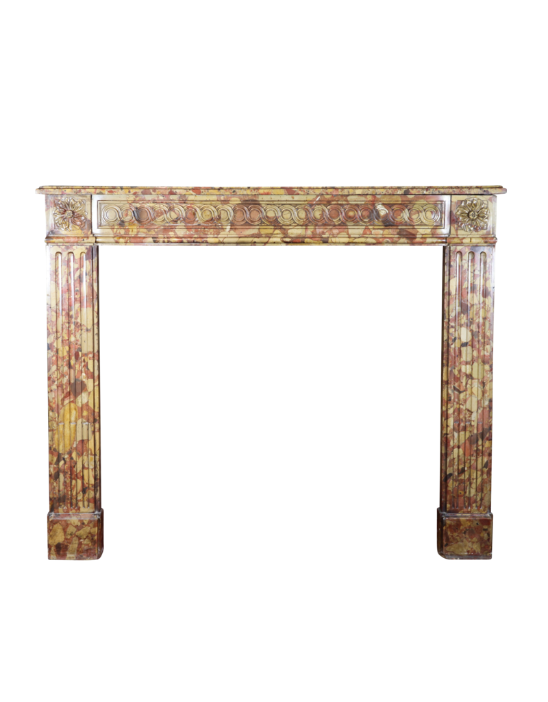 The Antique Fireplace Bank Small 18Th Century Chique French Vintage Fireplace Surround