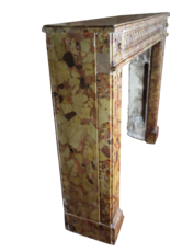 Kleine 18. Jahrhundert Chique Französisch Jahrgang Kamin Maske