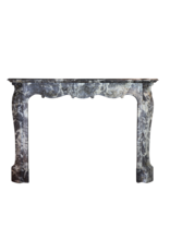 19. Jahrhundert Periode Belgischen Marmor Jahrgang Kamin Maske