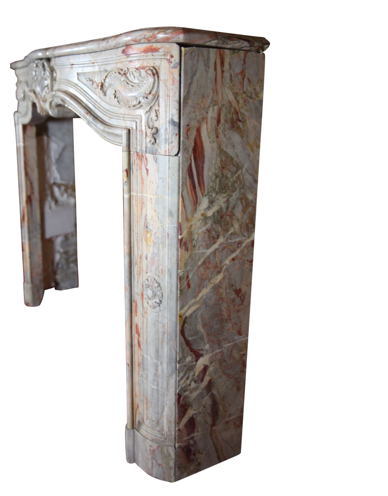 The Antique Fireplace Bank Vintage Saracolin Marble Fireplace Surround