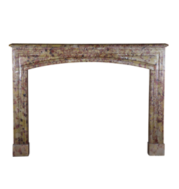 Louis XIV Period Brêche D'aleppe Marble Fireplace Surround