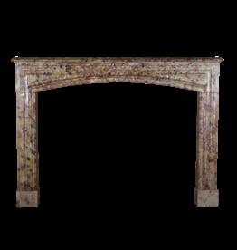 Maison Leon Van den Bogaert Antique Fireplaces & Vintage Architectural Elements Louis XIV Período Brêche D'aleppe Chimenea De Mármol De Sonido Envolvente