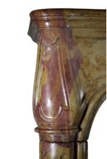 Fuerte Extrema Bicolor Duro De Piedra Antiguo Chimenea