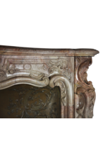 Belgian Belle Epoque Period Fireplace Surround