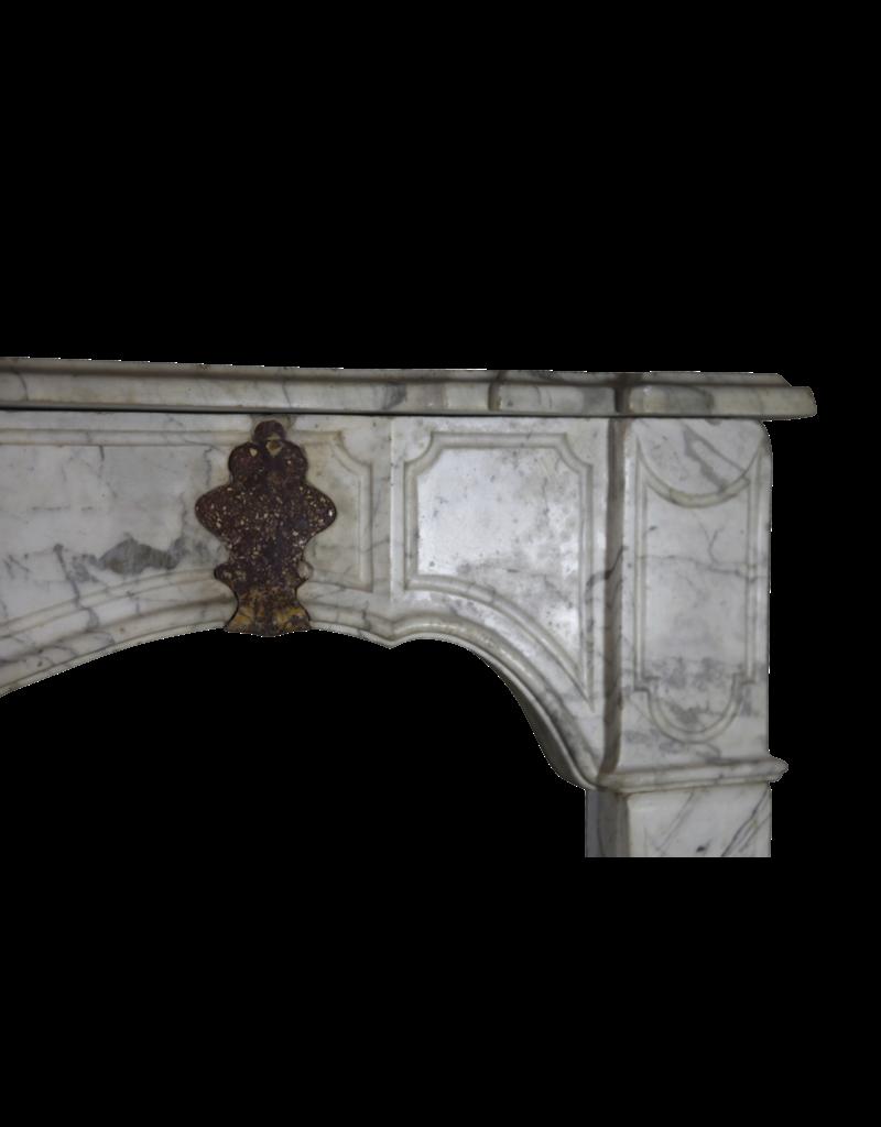 17. Jahrhundert Italienisch Kamin Maske In Marmor