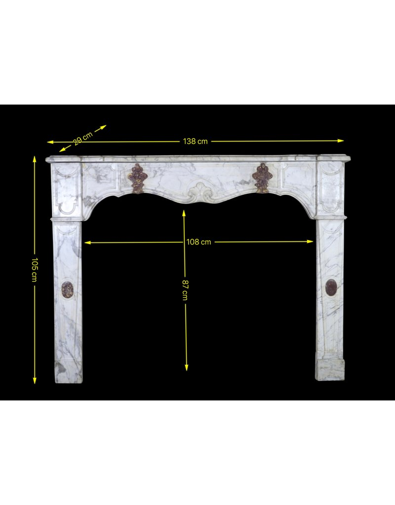 The Antique Fireplace Bank 17Th Century Italian Fireplace Surround In Marble