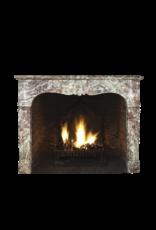 Maison Leon Van den Bogaert Antique Fireplaces & Vintage Architectural Elements Französisch Des 19. Jahrhunderts Chique Multi Color Marmor Kamin Maske