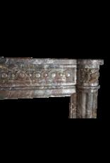 Belgian 18. Jahrhundert Klassische Marmor Antike Kamin Maske