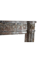 The Antique Fireplace Bank Belgian 18Th Century Classic Marble Antique Fireplace Surround
