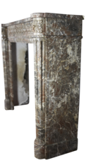 Belgian 18Th Century Classic Marble Antique Fireplace Surround