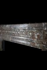 Belgische 18. Jahrhundert Klassische Marmor Antike Kamin Maske