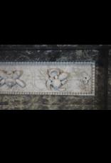 The Antique Fireplace Bank 18. Jahrhundert Feine Antike Belgische Marmor Kamin Maske