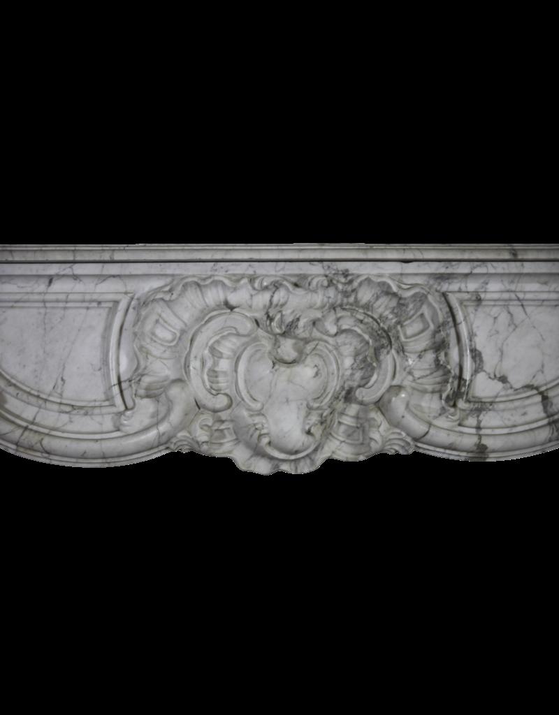 The Antique Fireplace Bank Antwerpen Barok Periode Groß Original Vintage Kamin Maske