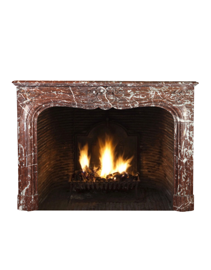 The Antique Fireplace Bank Belgian 19Th Century Marble Fireplace Surround