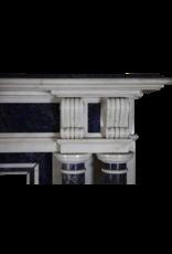 Paris Monumental Antike Kamin Maske In Marmor