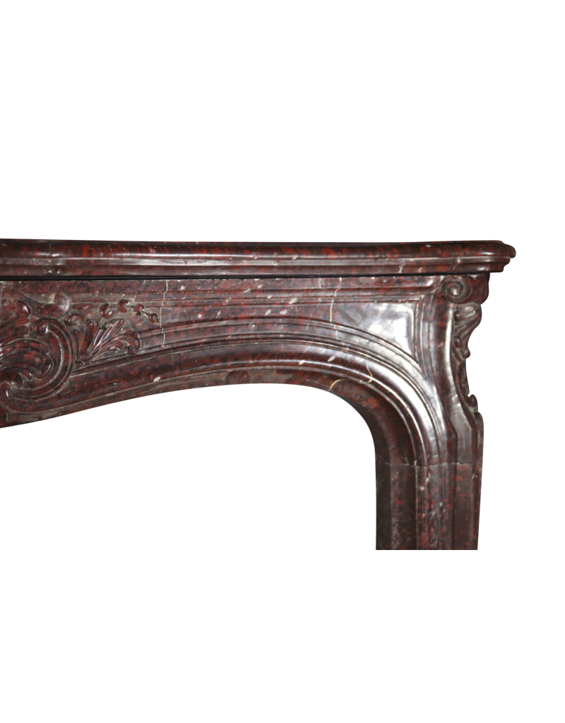 Exceptional Belle Epoque Antique Marble Fireplace Surround