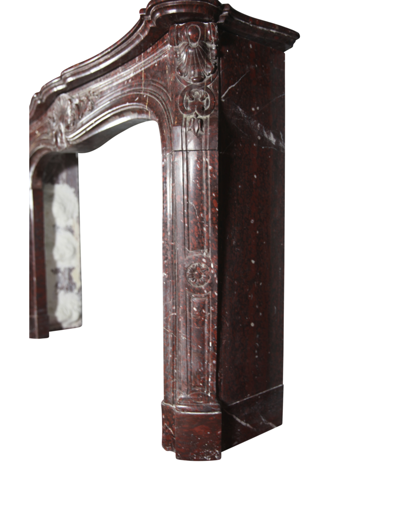 Excepcional Mármol Belle Epoque Antiguo Chimenea