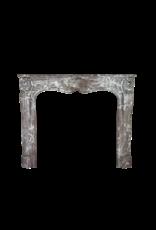 Belgian 18. Jahrhundert Periode Klassischen Marmor Kamin Maske