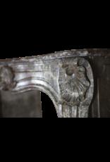 18A Belga Siglo Período Clásico Chimenea De Mármol De Sonido Envolvente