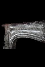 The Antique Fireplace Bank 18. Jahrhundert Groß Chique Französisch Kamin Maske