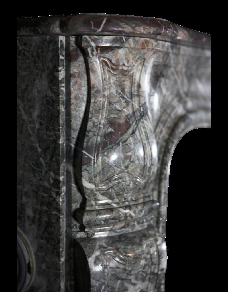 18. Jahrhundert Groß Chique Französisch Kamin Maske