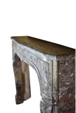 The Antique Fireplace Bank Kleines Zweifarbig Französisch Antik Kamin