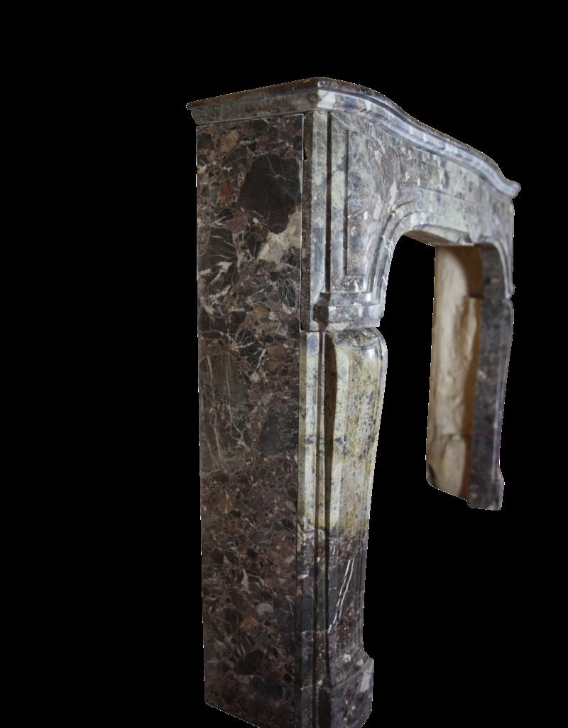 Kleines Zweifarbig Chique Französisch Antik Kamin