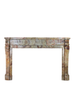 The Antique Fireplace Bank Classic Chique French Marble Antique Fireplace Surround
