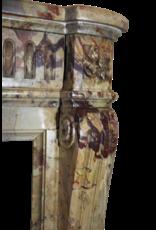 Maison Leon Van den Bogaert Antique Fireplaces & Vintage Architectural Elements Klassische Chique Französisch Marmor Antike Kamin Maske