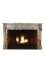 Classic Chique French Marble Antique Fireplace Surround