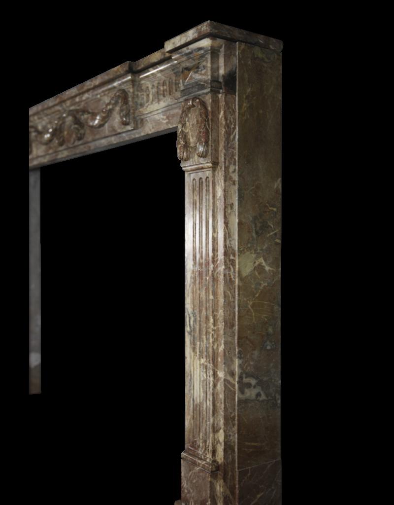 The Antique Fireplace Bank Empire Marmor Jahrgang Kamin Maske