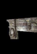 Empire Marmor Jahrgang Kamin Maske