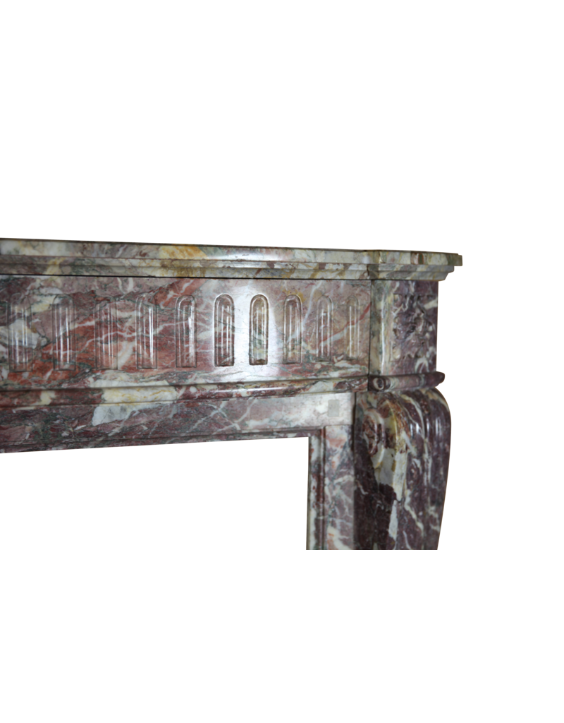 The Antique Fireplace Bank 19. Jahrhundert Belle Epoque Marmor Kamin