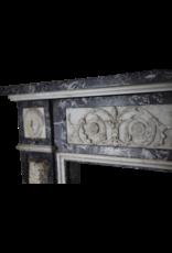 Maison Leon Van den Bogaert Antique Fireplaces & Vintage Architectural Elements Original Del Siglo 18 Belga Antiguo Revestimiento En Mármol
