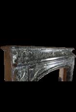 Monumental 19. Jahrhunderts Belgischen Jahrgang Kamin Maske