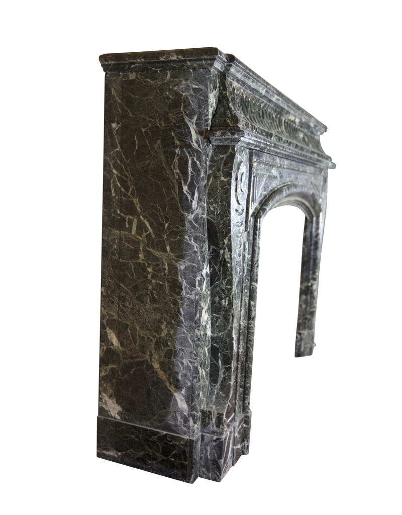 The Antique Fireplace Bank Monumental 19. Jahrhunderts Belgischen Jahrgang Kamin Maske