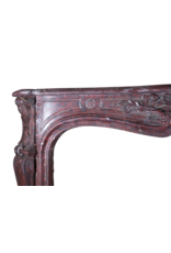Classic Grand Decor French Marble Vintage Fireplace Surround