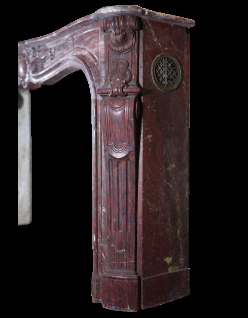 Maison Leon Van den Bogaert Antique Fireplaces & Vintage Architectural Elements Classic Groß Dekor Französisch Marmor Jahrgang Kamin Maske