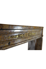 The Antique Fireplace Bank French Classic Chique Louis XVI Period Vintage Fireplace Surround