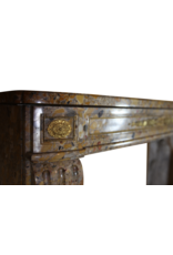 Französisch Klassiker Chique Louis XVI Zeitraum Jahrgang Kamin Maske