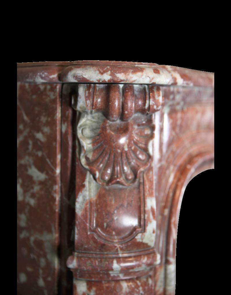 18. Jahrhundert Klassische Chique Französisch Jahrgang Marmor Kamin Maske