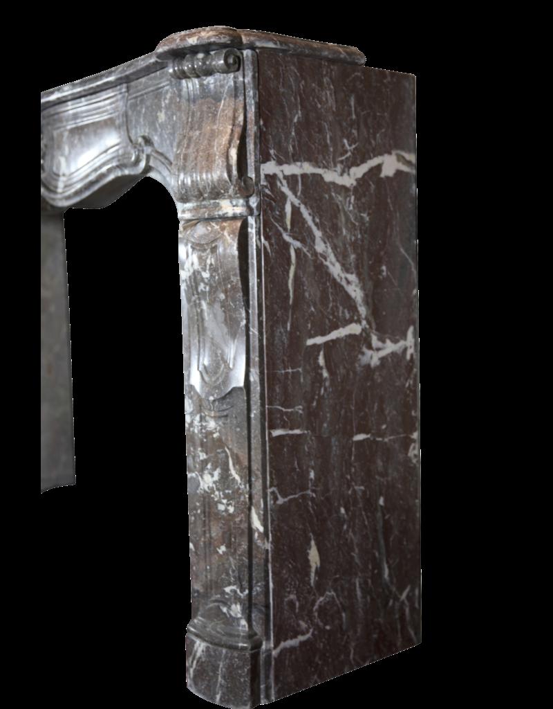 Französisch Regentschaft Period Marmor Kamin Maske