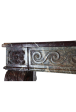 18Th Century Grand French Vintage Fireplace Surround