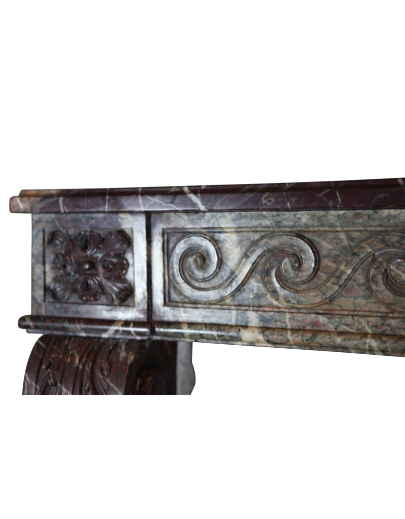 The Antique Fireplace Bank 18Th Century Grand French Vintage Fireplace Surround